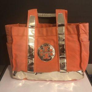 Tory Burch Big Canvas Tote Bag